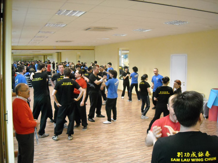 Italian disciples returning home in Italy to teach Wing Chun