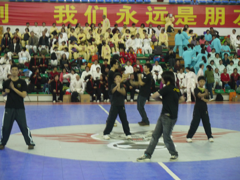 Performance of Chum Kiu, Bui Tze, Siu Lim Tao and Chi Sau