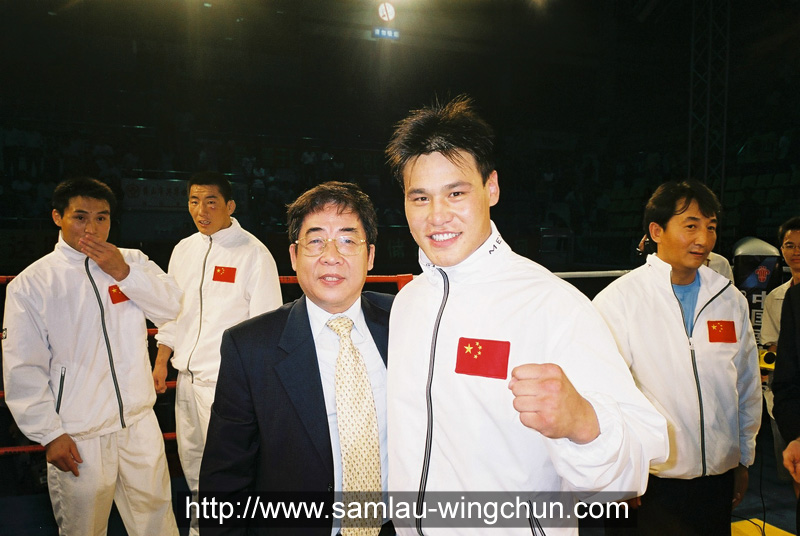 Cinese Free Fighting champion Liu Hai Long