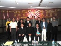 Executive Committee Meeting of International Dragon and Lion Dance Federation